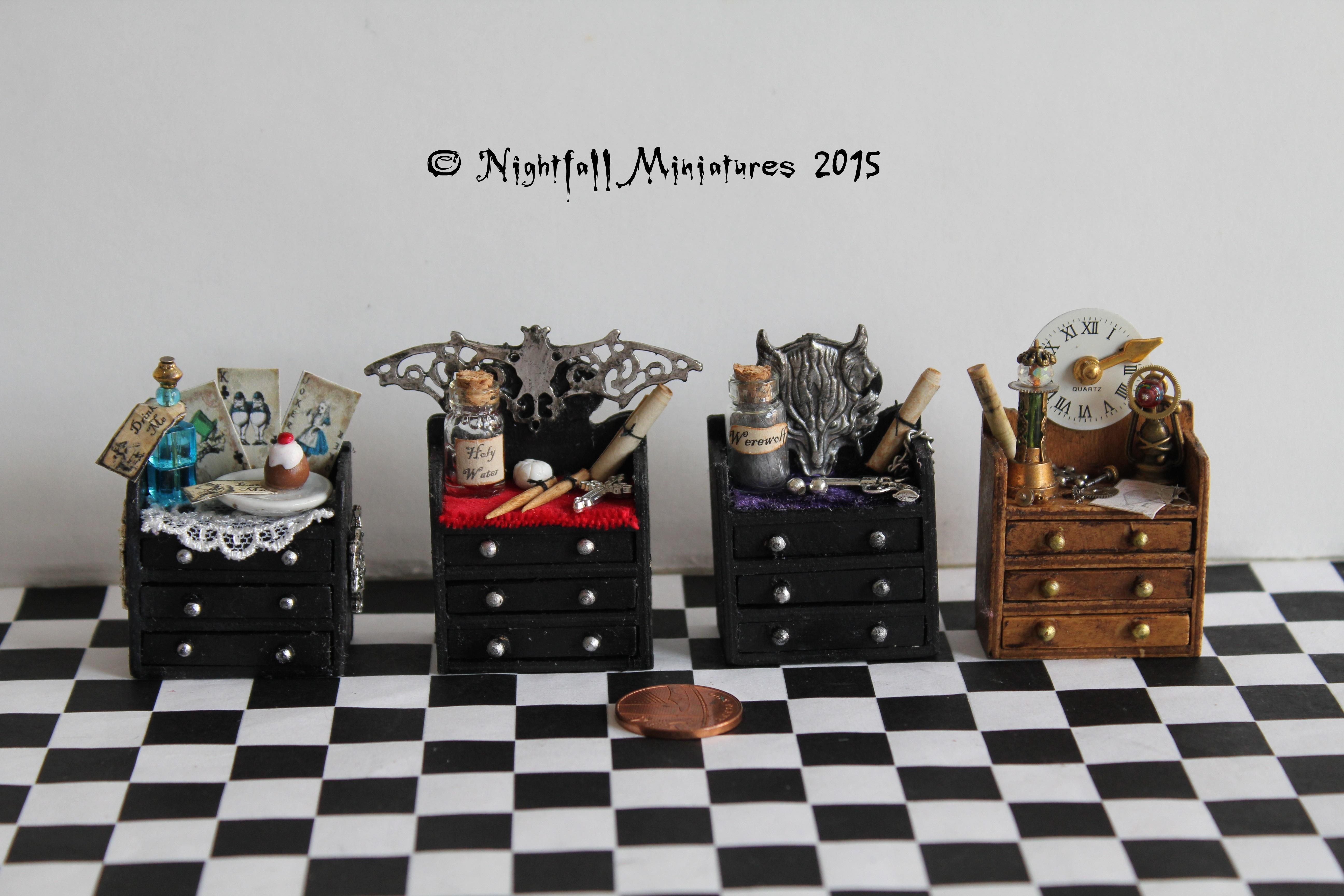 tiny cabinets