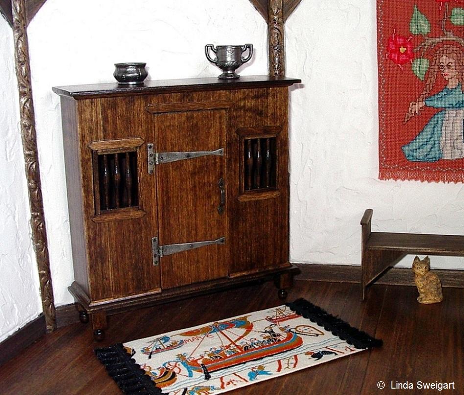 rustic livery cupboard