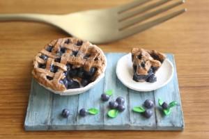 5 blueberry pie